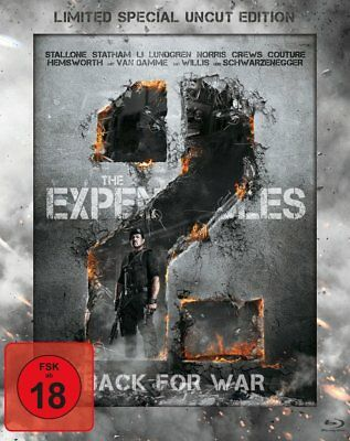The Expendables 2 - Back for War (Limited Special Uncut Edition) (Steelbook)