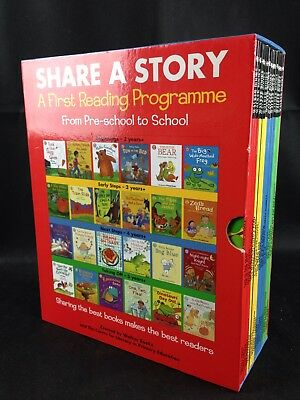 Share A Story - A First Reading Programme - Pre School+ 24 Book Set