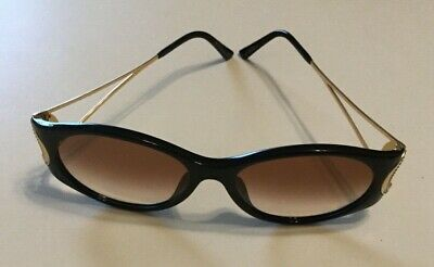 124faed3f369a Vintage Christian Dior Sunglasses mod. 2661 90 Black Gold Optyl Designer  Shades
