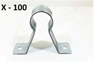 """100 Globe Pipe Hanger 627-206 Two Holes Stand-Off Strap for 5/8"""" CPVC"""
