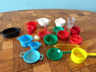 Geschirr Topf Pfanne Sieb ... Puppenstube Puppenhaus 1:12 dollhouse dishes