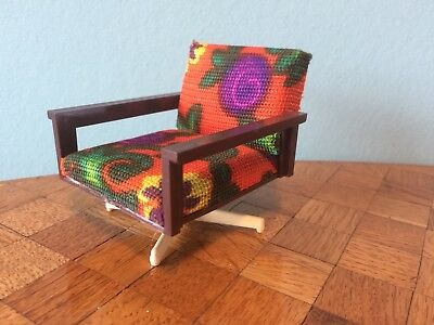 Sessel Drehsessel Vero Puppenstube Puppenhaus 1:12 dollhouse swivel chair