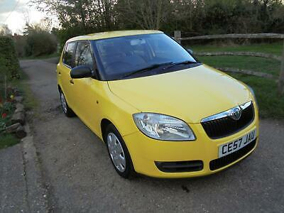 2007 SKODA  FABIA 1.2 HTP 6v ( 60bhp ) 1 LOW MILEAGE ONE OWNER FULL HISTORY