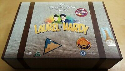 Laurel & Hardy The Feature Film Collection 10-Films Dvd Box Set Pal