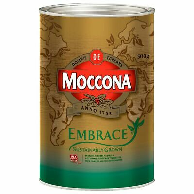 Moccona Embrace Sustainably Grown Instant Coffee 500g