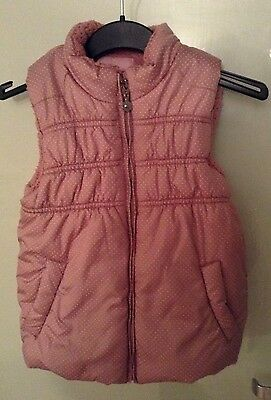 Lovely warm fleece lined gilet Age 5yrs - Please see photos