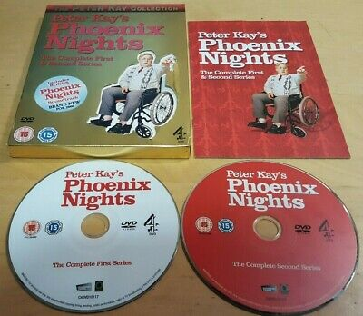 Peter Kay's Phoenix Nights The Complete First & Second Series 1 & 2 Dvd Pal