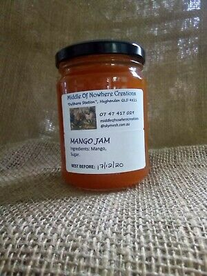 Home made Delicious Preserves 250g Jars 5 JAR BULK BUY