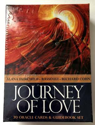 Journey Of Love - Oracle Card Deck & Guidebook Set - Tarot Fortune Telling - MIB
