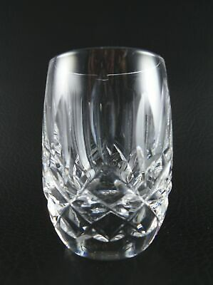 "LISMORE by WATERFORD Crystal 2 1/2"" Shot Glass EXCELLENT Multiple Available"