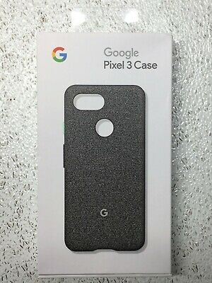 Google Pixel 3 Fabric Phone Case - Cement - Model GA00490 *TESTED AND WORKING*