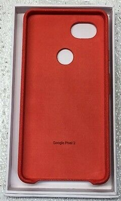 Google Pixel 2 XL Fabric Phone Case - Coral GA00170 *GOOD CONDITION*