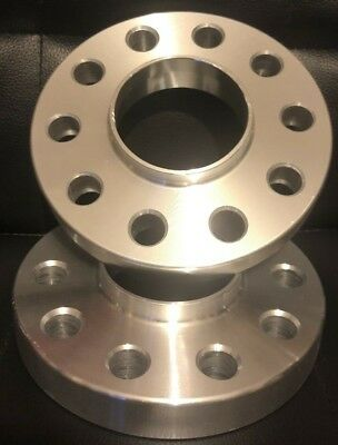 Hubcentric 20mm Alloy Wheel Spacers Audi A5 5x112 66.6 - Pair
