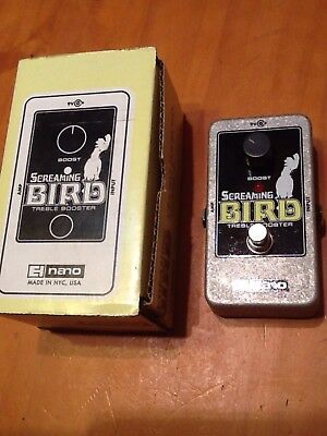 Electro-Harmonix Screaming Bird Treble Booster Effektgerät