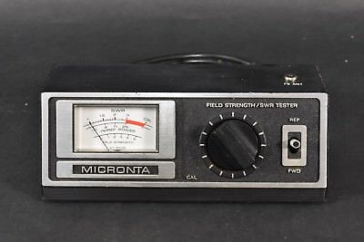 VINTAGE Radio Shack Micronta Field Strength SWR Tester UNTESTED