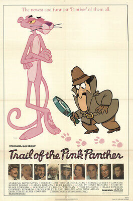 Trail Of The Pink Panther 1982 27x41 Orig Movie Poster FFF-13873 Fine, Very Fine