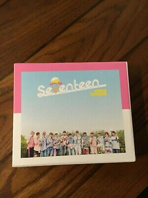 Love & Letter: Repackage Album by Seventeen with DK WonWoo and Woozi PCs