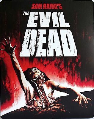 THE EVIL DEAD Steelbook Limited Edition (UK 1x Region ABC+UV Copy) NEW & SEALED