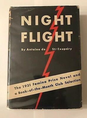 Photo Signed Night Flight By Antoine De Saint-exupery 1st Hcdj 1932 $1.75