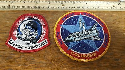 Vintage Snapback Hat W/ Nasa Columbia Spacelab 1 Mission Patch Collectibles