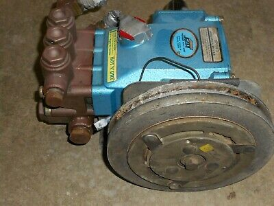 Cat Pump High Pressure Pump 3CP1120.3 & Electro Clutch from HydraMaster CDS 4.8