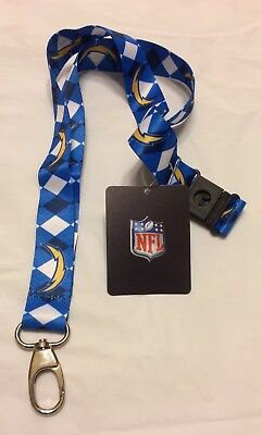 Brand New NFL All Teams Pick Your Team Lanyard ID Holder KeyChain Key Chain