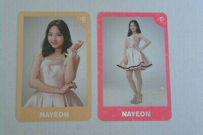 (Lot of 2) Twice Land The Opening Encore Concert Photocard Nayeon