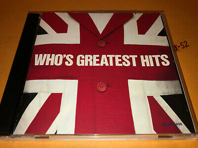 THE WHO'S greatest HITS cd PINBALL WIZARD my generation FOOLED AGAIN who are you