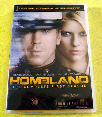 Homeland: The Complete First Season 1 ~ New DVD Video ~ Sealed 4-Disc TV Show
