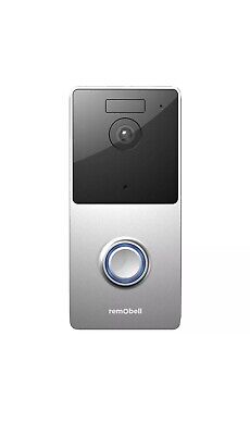 WiFi Wireless Video Doorbell, RemoBell Night Vision, 2-Way, Free Shipping