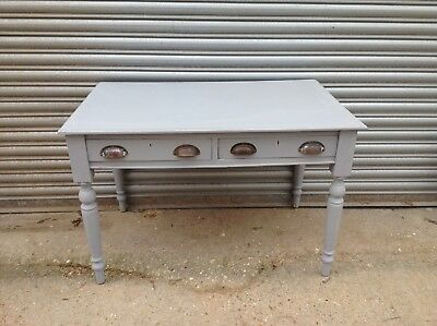 Small Late 19th Century Painted Writing Table