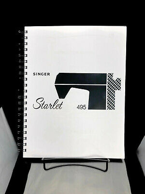 Singer Starlet 495 Sewing Machine Instructions User Guide Manual Reprint Copy