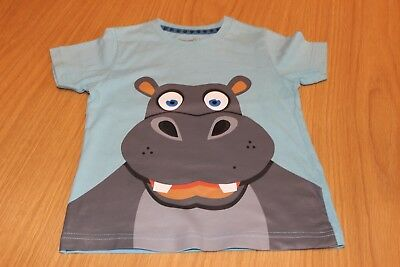 HIPPO T-SHIRT 18 -24 months SHORT SLEEVED   TU EXCELLENT CONDITION