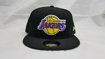 official photos c4237 4ae92 New Era 9Fifty Snapback Hat. Nba. Los Angeles Lakers.