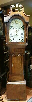 Antique Grandfather Clock by William Ness of Kirbymoorside - Delivery Arranged