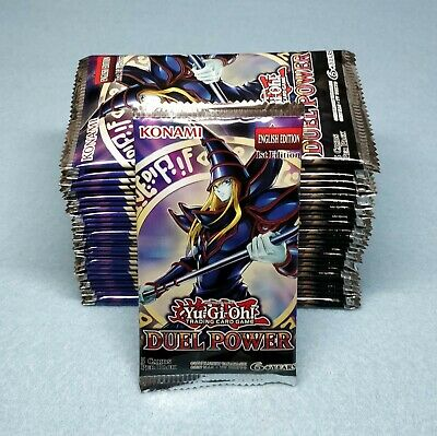 30x Yugioh Duel Power 1st Edition Booster Packs DUPO Brand New Sealed Cards