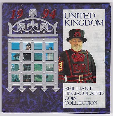 1994 United Kingdom Brilliant Uncirculated Coin Set | Pennies2Pounds