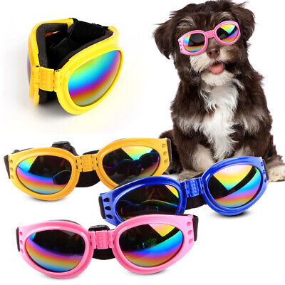 Adjustable Pet Dog UV Sunglasses Sun Glasses Goggles Eye Wear For Puppy Trendy
