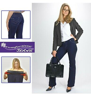 Womens XXL Bootcut Jeans Soft Stretchy Leggings Jeggings Pant Ladies Trousers