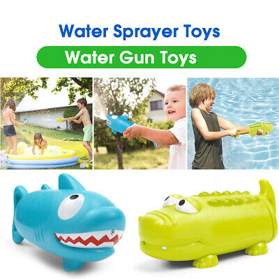 27cm Water Gun Pump Action Outdoor Shoot Squirt Soaker Kids Outdoor Toy Gift UK
