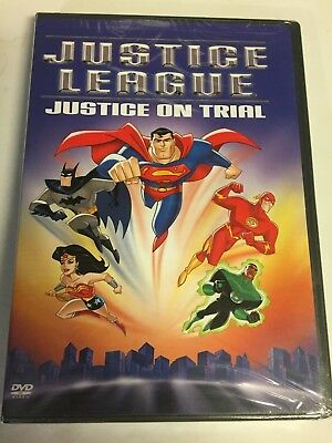 Justice League - Justice on Trial (DVD, 2003) Brand New Factory Sealed!!