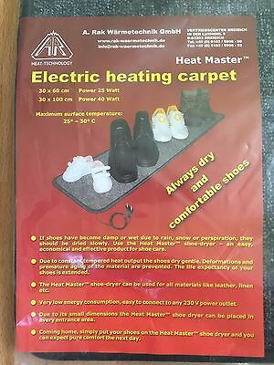 Electric heating carpet / Shoes dryer