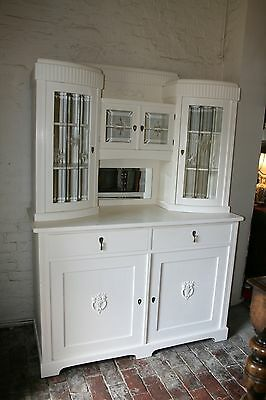 Antique Kitchen Dresser  Hand Paintead