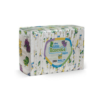 GetNappied Little Rascals (PE Backed) Adult Nappy / Diaper for Incontinence