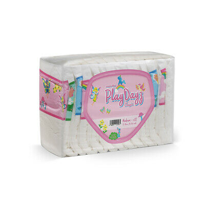 GetNappied PlayDayz Classic Pink (PE Backed) Adult Nappy / Diaper for Inconti...