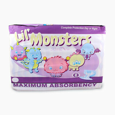 Rearz Lil' Monsters - Adult Nappy / Diaper - Incontinence Product