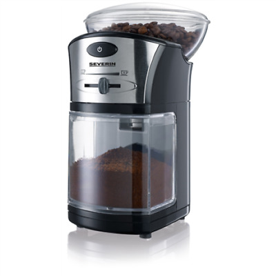 Severin Coffee Grinder KM 3874 Black/ Silver, 100 W, 150 g, Number of cups Sel,.