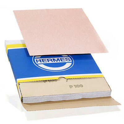9x11 Sanding Sheet, 60 Grit, VC 152, by Hermes Abrasives - Lot of 50 sheets