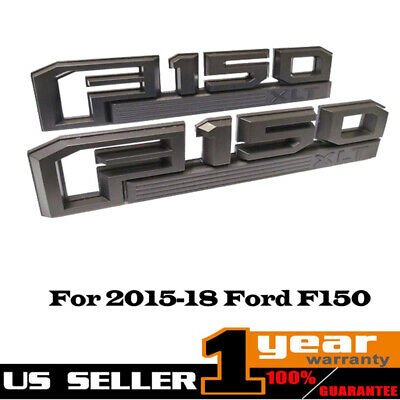 OEM FL3Z16720C Fender Nameplate Emblem Chrome /& Black Right RH for Ford F150 New