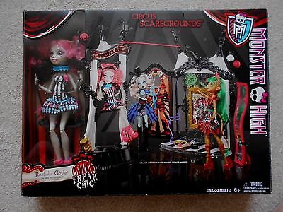 CIRCUS SCAREGROUNDS character doll/playset - unused MONSTER HIGH Rochelle Goyle